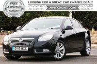 USED 2013 13 VAUXHALL INSIGNIA 2.0 SRI NAV CDTI 5d 157 BHP +++ FREE 6 months Autoguard Warranty included in screen price +++