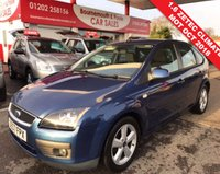 USED 2007 57 FORD FOCUS 1.6 ZETEC 5d 100 BHP