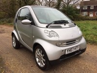 USED 2007 07 SMART FORTWO 0.7 PASSION SOFTOUCH 2d AUTO 61 BHP Pano Roof, Air Con, Electric Windows
