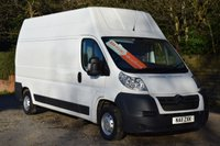 USED 2011 11 CITROEN RELAY 2.2 35 L3H3 120 LWB EHR  120 BHP