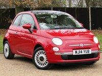 2014 FIAT 500 1.2 LOUNGE 3d 69 BHP £5750.00