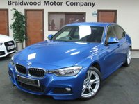 2013 BMW 3 SERIES 2.0 318D M SPORT 4d 141 BHP £13499.00