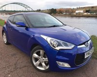 USED 2012 62 HYUNDAI VELOSTER 1.6 GDI 4d 138 BHP **TOUCH SCREEN MEDIA CENTRE**