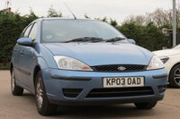 2003 FORD FOCUS 1.6 LX 5d 99 BHP £SOLD