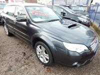 USED 2008 08 SUBARU OUTBACK 2.0 D RE 5d 150 BHP LEATHER,PANROOF, ALLOYS,CD,F.S.H, GREAT VALUE 4X4