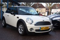 2010 MINI HATCH ONE 1.6 ONE 3dr 98 BHP £SOLD