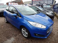 USED 2013 63 FORD FIESTA 1.2 ZETEC 3d 81 BHP 1 OWNER,FULLL SERVICE HISTORY, RECENT CAMBELT, BLUETOOTH