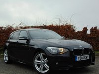 USED 2014 14 BMW 1 SERIES 2.0 116D M SPORT 5d STUNNING INTERIOR
