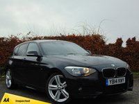 USED 2014 14 BMW 1 SERIES 2.0 116D M SPORT 5d * 128 POINT AA INSPECTED *