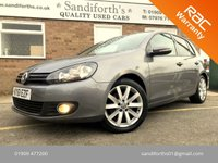 2011 VOLKSWAGEN GOLF 2.0 GT-L TDI 5d FULL HEATED BLACK LEATHER, BLUETOOTH,  £7990.00