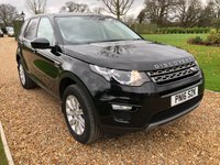 USED 2016 16 LAND ROVER DISCOVERY SPORT 2.0 TD4 SE 5d 180 BHP 1/2 LEATHER, HEATED SEATS