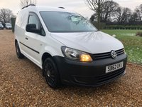 USED 2012 62 VOLKSWAGEN CADDY 1.6 C20 TDI 102 5d 101 BHP