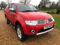 USED 2013 63 MITSUBISHI L200 SWB 2.5 DID WARRIOR REAR CANOPY