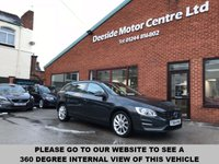 USED 2014 64 VOLVO V60 2.0 D4 BUSINESS EDITION 5d 178 BHP ZERO road tax,   Full service history,   Bluetooth,   Satellite Navigation system,  Wi-Fi,   Rear parking sensors