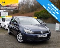2012 VOLKSWAGEN GOLF 1.6 MATCH TDI BLUEMOTION TECHNOLOGY 5d 103 BHP £7295.00
