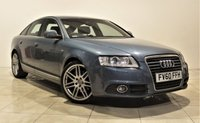 USED 2010 60 AUDI A6 2.0 TDI S LINE SPECIAL EDITION 4d 168 BHP + 2 PREV OWNER + SERVICE HISTORY + AIR CON + AUX