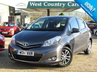USED 2014 14 TOYOTA YARIS 1.4 D-4D ICON PLUS 5d 90 BHP £0 For A Years Tax And 60MPG