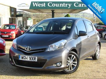 2014 TOYOTA YARIS 1.4 D-4D ICON PLUS 5d 90 BHP £7000.00