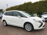 2014 VAUXHALL ZAFIRA TOURER 2.0 SE CDTI 5d  ONE PRIVATE OWNER FROM NEW  £8500.00