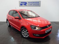 2013 VOLKSWAGEN POLO 1.2 MATCH EDITION TDI 5d 74 BHP £6800.00