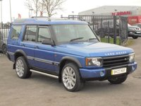 USED 2003 03 LAND ROVER DISCOVERY 2.5 TD5 LE ADVENTURER 7STR 5d 137 BHP PART EX TO CLEAR