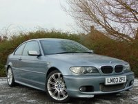 USED 2003 03 BMW 3 SERIES 3.0 330CI SPORT 2d AUTO 228 BHP FULL LEATHER AND SATELLITE NAVIGATION