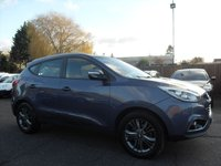 USED 2014 64 HYUNDAI IX35 1.7 SE CRDI 5d 1 OWNER FROM NEW NO DEPOSIT PCP/HP FINANCE ARRANGED, APPLY HERE NOW