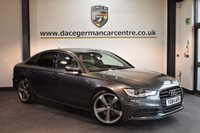 USED 2014 64 AUDI A6 2.0 TDI ULTRA S LINE BLACK EDITION 4DR AUTO 188 BHP + HALF BLACK LEATHER INTERIOR  + FULL AUDI SERVICE HISTORY + 1 OWNER FROM NEW + SATELLITE NAVIGATION + BLUETOOTH + HEATED SPORT SEATS + DAB RADIO + CRUISE CONTROL + PARKING SENSORS + 20 INCH ALLOY WHEELS +