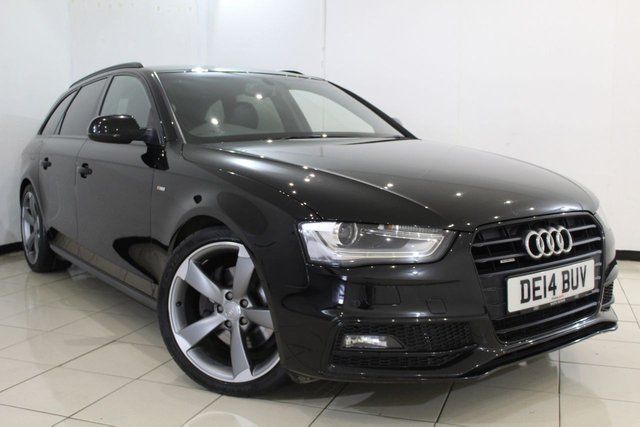 View our 2014 14 AUDI A4 3.0 AVANT TDI QUATTRO S LINE BLACK EDITION 5DR AUTOMATIC 241 BHP