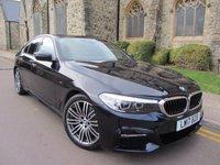 2017 BMW 5 SERIES 2.0 520D M SPORT 4d AUTO 188 BHP £31995.00