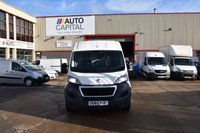 USED 2015 65 PEUGEOT BOXER 2.2 HDI 335 L3H2 PROFESSIONAL P/V 5d 130 BHP LWB AIR CON RWD DIESEL PANEL VAN 1 OWNER LOW MILEAGE SPARE KEY