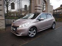USED 2014 14 PEUGEOT 208 1.6 ALLURE E-HDI 5d 92 BHP ****FINANCE ARRANGED***PART EXCHANGE***5 SERVICE STAMPS***
