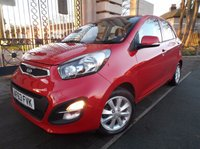 USED 2013 63 KIA PICANTO 1.2 2 5d AUTO 84 BHP *** FINANCE & PART EXCHANGE WELCOME *** AIR/CON BLUETOOTH CD PLAYER AUX & USB SOCKETS