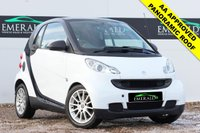 """USED 2009 09 SMART FORTWO 1.0 PASSION MHD 2d AUTO 71 BHP **SECURE WITH A £99 FULLY REFUNDABLE DEPOSIT**£0 DEPOSIT FINANCE AVAILABLE** AA APPROVED** FULL SERVICE HISTORY, AIR CONDITIONING, PANORAMIC ROOF, CD PLAYER, ELECTRIC WINDOWS, CLIMATE CONTROL AND 15"""" 9 SPOKE ALLOYS"""