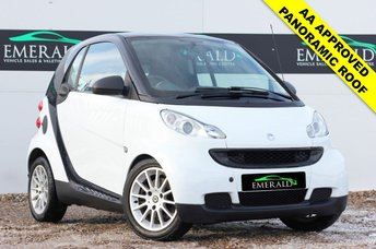 2009 SMART FORTWO 1.0 PASSION MHD 2d AUTO 71 BHP £3300.00