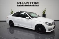 2013 MERCEDES-BENZ C CLASS 2.1 C220 CDI BLUEEFFICIENCY AMG SPORT PLUS 4d AUTO 168 BHP £16490.00