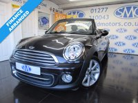 USED 2013 63 MINI CONVERTIBLE 1.6 COOPER HIGHGATE 2d 120 BHP