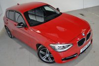 USED 2014 14 BMW 1 SERIES 2.0 118D SPORT 5d AUTO 141 BHP