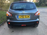 USED 2011 61 NISSAN QASHQAI 1.6 ACENTA 5d 117 BHP PLEASE CALL TO VIEW