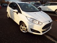 USED 2015 65 FORD FIESTA 1.2 ZETEC 5d 81 BHP ONE owner FORD Service History