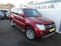USED 2010 60 MITSUBISHI SHOGUN 3.2 DI-D ELEGANCE 5d AUTO 197 BHP 7 Seater With Navigation+Full Leather+Reversing Camera