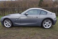 """USED 2007 57 BMW Z4 3.0 Z4 SI COUPE 2d AUTO 265 BHP HISTORY-LEATHER-AUTO Presented with 2 Keys, Service History, Just Serviced & 12 Months MOT, Great Example in Stunning Met Blue/Grey with Uprated 18"""" Star Alloys, Full Leather Electric Driver & Pasenger Seats, Auto with F1 Style Paddle Shift, Rear Parking Aid, Climate Control, Business Edition Cd Radio, Parrot Bluetooth, Multi Fuction Sterring WheelAutomatic Headlights, Automatic Rain Senor Wipers, Interior & Exterior Dimming Mirrors"""
