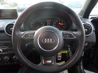 USED 2015 15 AUDI A1 1.4 SPORTBACK TFSI S LINE * 2 TONE LEATHER * NAV * MMI ** ** SAT NAV * LEATHER * F/S/H * DAB **
