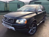 2010 VOLVO XC90 2.4 D5 R-DESIGN SE AWD 5d AUTO 185 BHP 7 SEATER HEADREST DVDS LEATHER ONE OWNER FSH £12990.00