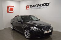 USED 2007 07 BMW M5 5.0 AUTO 501 BHP *FULL SERVICE HISTORY* BLACK WITH BLACK LEATHER & PRIVACY GLASS