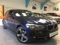 USED 2014 14 BMW 1 SERIES 2.0 120D SPORT 3d AUTO 181 BHP