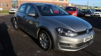 USED 2014 14 VOLKSWAGEN GOLF 1.6 SE TDI BLUEMOTION TECHNOLOGY 5d 103 BHP LOW DEPOSIT OR NO DEPOSIT FINANCE AVAILABLE.