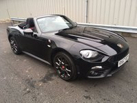 USED 2017 67 ABARTH 124 1.4 SPIDER SCORPIONE 170 BHP, AVAILABLE FOR SELF DRIVE HIRE! SELF DRIVE HIRE - WEDDINGS / PROMS / SPECIAL OCCASIONS!