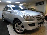 2007 MERCEDES-BENZ M CLASS 3.0 ML280 CDI EDITION S 5d AUTO 188 BHP £8495.00