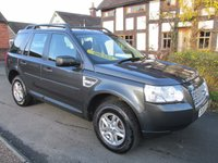 USED 2009 58 LAND ROVER FREELANDER 2.2 TD4 S 5DR ALLOYS FSH FULL SERVICE HISTORY